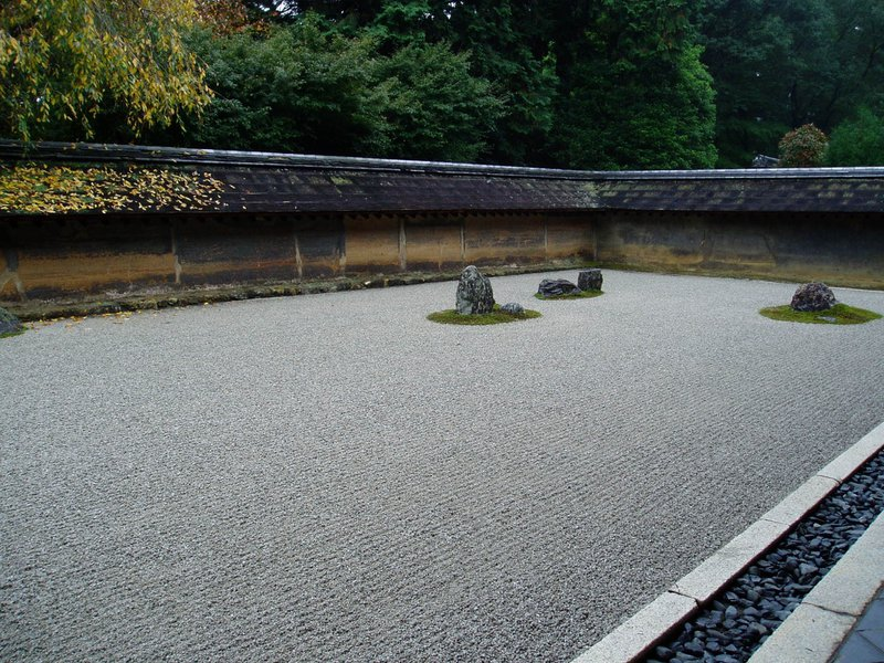 A minimum viable product is like a Zen garden