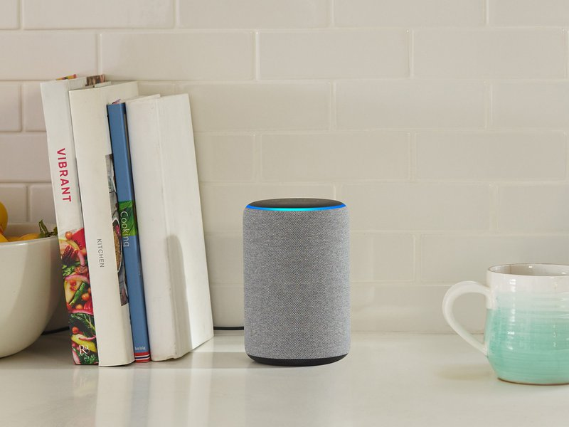 Amazon's Echo Plus with Alexa, an artificial intelligence in the home