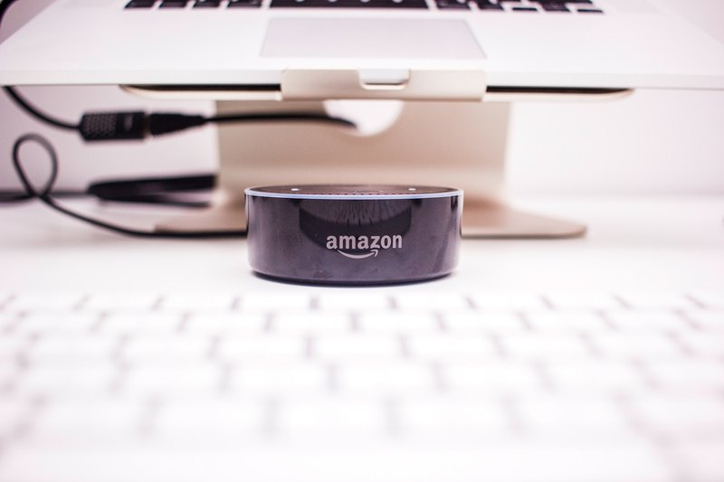 This is a photo taken for my blog about 2nd generation of Amazon Echo Dot (which is really cool!).